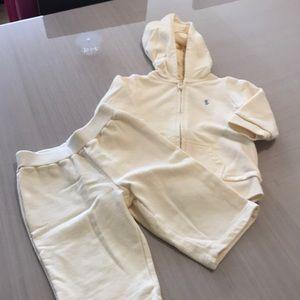 Ralph Lauren boys cream 9mths jogging outfit